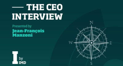 The CEO Interview podcast series with Jean-Francois Manzoni